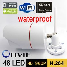73.43$  Buy here - http://aissl.worlditems.win/all/product.php?id=32245539805 - ip camera wifi 960P cctv security system wireless micro sd card outdoor waterproof hd door digital cameras onvif p2p infrared