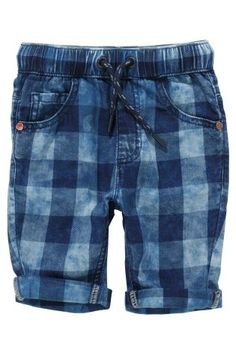 Buy Blue Check Shorts (3mths-6yrs) online today at Next: Hungary