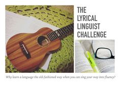 Why learn a language the old-fashioned way when you can sing your way into fluency? https://www.youtube.com/playlist?list=PLjQpiQqxL39C6jIMFvkFygq0jOGCtUzR7