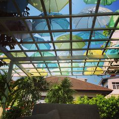 My #favoritePlace in #ChiangMai to #relax. #Thailand #Asia #Regenschirm #Sonne #Deko #Outdoor #Terrasse