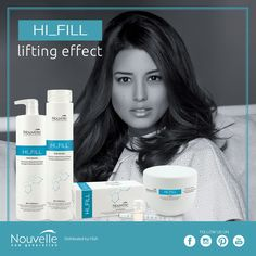 Discover the whole Hi_fill range: shampoo, maschera and phials to fight the signs of time / Scoprite l'intera gamma Hi_fill: shampoo, maschera e fiale per contrastare i segni del tempo #hair #hairstyle #haircolour #haircolor #fashion #style #longhair #curly #straight #black #brown #red #blonde #hairfashion #coolhair #bauty #nouvellecolor #hsacosmetics #silkycolor