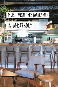 """Looking for a restaurant in Amsterdam? Check out the list on http://www.yourlittleblackbook.me with all the must visit restaurants for a tasty dinner. Planning a trip to Amsterdam? Check http://www.yourlittleblackbook.me & download """"The Amsterdam City Guide app"""" for Android & iOs with over 550 hotspots: https://itunes.apple.com/us/app/amsterdam-cityguide-yourlbb/id1066913884?mt=8 or https://play.google.com/store/apps/details?id=com.app.r3914JB"""