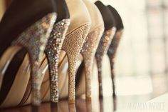 My heart just skipped a beat - literally...  OK, maybe not literally, but these glittery heels are still MAJ!!!