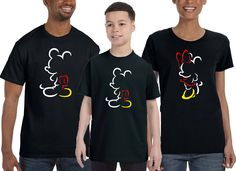 Mickey Mouse Inspired Disney shirt,Minnie Mouse ,Family Disney Tshirt,Disney shirt,Mickey outline shirt,Adult, Ladies, Youth, Toddler, Baby
