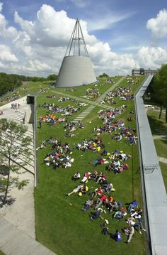 Roof Garden Technical University | Delft Netherlands