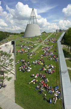 Francine Houben, Green Roof, Technische Universiteit, Delft
