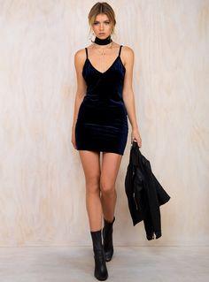 Macie Velvet Dress
