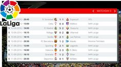 Matchday 3 Results, Standings, Stats. Fixtures for MD 4 | LaLiga Santand...