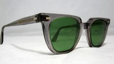 4ec882e0b12d4 Vintage SunGlasses Frames Mens Horn Rim by CollectableSpectacle