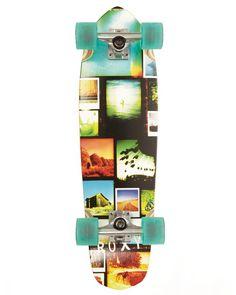 814e02de81822f ROXY™ Ladies Remember Me Cruiser Skateboard