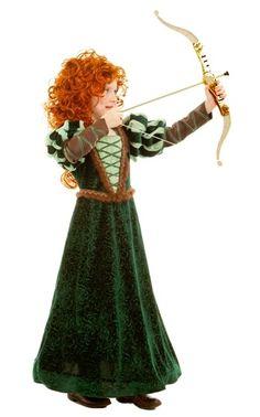 Princess Merida Dress - Everything Princesses