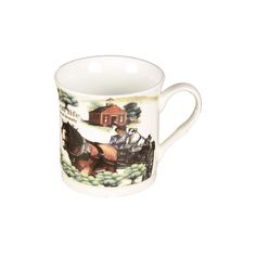 72 Units of COFFEE MUG RURAL LIFE - Coffee Mugs - at - alltimetrading.com Wholesale Coffee Mugs, Disposable Coffee Cups, Stainless Steel Thermos, Cute Coffee Mugs, The Unit, Life