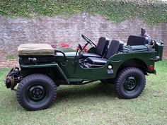 1952 Willys CJ-3A - Photo submitted by Roberto Borim.
