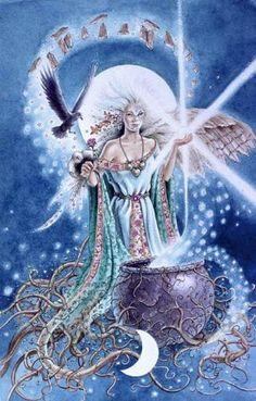 cerwiden goddess | Cerridwen | Goddess: Cerridwen