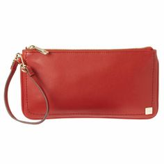 Nine West  Smooth Leather Zip Wristlet