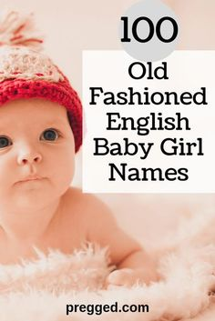 #girlsnames #babynames old fashioned girl names. Old fashioned names are certainly making a comeback, and it seems that the retro option is bang in fashion. Today's new parents aren't naming their kids after their parents' generation. You won't find many babies called Roger, Theresa, or Julie. But go a little further back (just another generation or two) and it's clear that beloved traditional names are coming back into use. Old fashioned baby girl names, old fashioned vintage girl names English Baby Girl Names, English Girls, Old Fashion Girl Names, Baby Girl Fashion, New Parents, New Moms, Traditional Girl Names, Girls Names Vintage, Old Girl Names