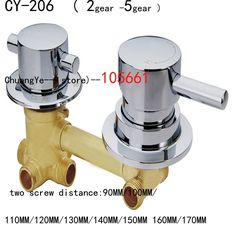 57.00$  Watch now - http://alixuy.worldwells.pw/go.php?t=2034250699 - Whole Sale shower room Faucet, 2/3/4 ways Water Outlet shower room Mixing Valve/shower room Cabin Accessories 57.00$