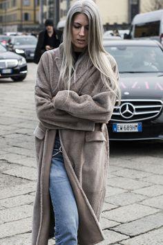 Sarah Harris / Milan | Julian Boudet |http://bleumode.com