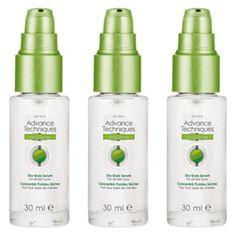 AVON 3 x Advance Techniques Daily Shine Dry Ends Serum **SALE**FREE POSTAGE