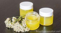 Nutze die vielen heilenden Inhaltsstoffe der Schafgarbe gegen Hautkrankheiten, Hämorrhoiden und vieles mehr.