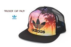 【楽天市場】[アディダス オリジナルス キャップ]パーム トラッカーキャップ トレフォイル フラットブリム adidas Originals TRUCKER PALM S20563 レディース メンズ メッシュキャップ 帽子:ココチヤ