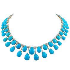 Turquoise collar, David Webb