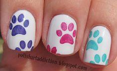 Polish Art Addiction... Ooooo, perfect nails for me!