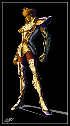 Aioria de Leo. Caballero Dorado. Saint Seiya.