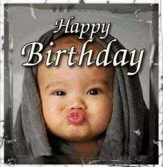 Kissy Baby Happy Birthday Image - Happy Birthday Funny - Funny Birthday meme - - Kissy Baby Happy Birthday Image The post Kissy Baby Happy Birthday Image appeared first on Gag Dad.