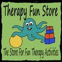 Therapy Fun Zone blog with lots of OT ideas and activities