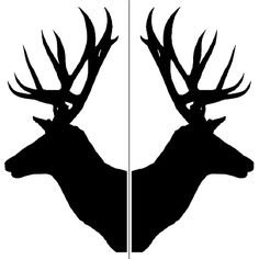 Deer & Moose Stencils - Etchworld.com - Your Glass Etching Online ...                                                                                                                                                                                 More