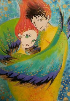 Akagami no shirayukihime  Obiyuki Lovebirds Youseimanami tumblr