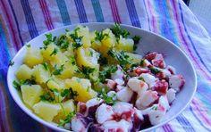Polpo e patate - Un piatto semplice e veloce per una ricetta davvero particolare!