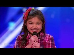Angelica Hale: ALL Performances on America's Got Talent 2017 Kids Got Talent, Got Talent Videos, Whitney Houston, Agt Winner, Britain Got Talent, Old Singers, Pinterest Photos, Original Music, Youtube