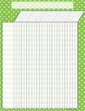 """Checkout the """"Lime Polka Dots Incentive Chart"""" product"""