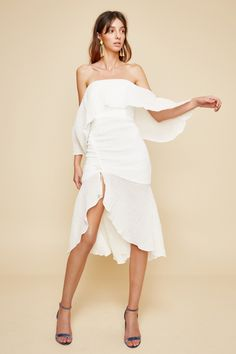 SACRIFICES MIDI DRESS, C/MEO COLLECTIVE $215.00    http://www.shopyou.com.au/ #womensfashion #shopyoustyle
