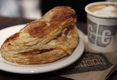 Apple Turnover! many have tried to imitate this French pastry in Nyc, but Ground-Central have mastered it perfectly!