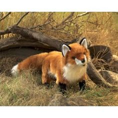 Folkmanis Standing Red Fox Puppet $20.75