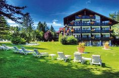 Spa & Golf Vital-Resort König Ludwig, Oberstaufen, Germany  --  Get the Best Rates and Booking Options here >> http://www.lowestroomrates.com/avail/hotels/Germany/Oberstaufen/Spa-Golf-Vital-Resort-König-Ludwig.html?m=p  Located in Oberstaufen, Spa & Golf Vital-Resort König Ludwig is in the mountains and minutes from Imbergbahn Cable Car and Golf Club Oberstaufen und Steibis and  within the vicinity of Hochgrat Cable Car and Nordic Sport Park. #VitalResort #KönigLudwig #BavariaHotels…