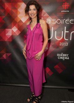 Les plus belles robes des #Jutra2013: Marie-Christine Trottier