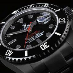 Rolex Submariner Stealth by Titan Black