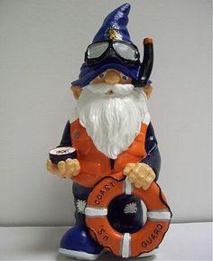United States Coast Guard Military Garden Gnome