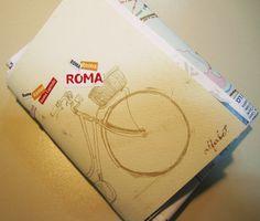 Scrapbook de Roma - Capa