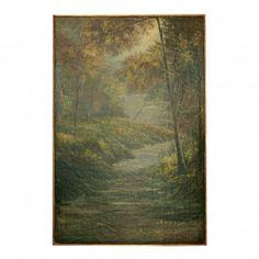 Uttermost Creekside Hideaway Canvas Oil Painting - 32026