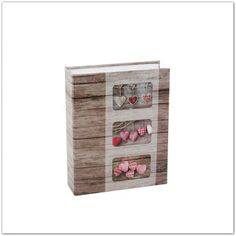 Pinkbagoly: Szív mintás zsebes fotóalbum, 200 db 15x10 cm-es k... Shoe Rack, Photograph Album, Shoe Closet, Shoe Racks, Shoe Cupboard