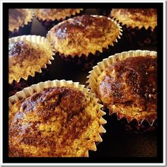 bran muffins, BUT has full fat yogurt and cream cheese so not true paleo. but grain free and gluten free