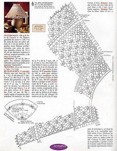 abajour crochet (17) Crochet World, Crochet Books, Crochet Art, Crochet Patterns, Lampe Crochet, Crochet Lampshade, Bruges Lace, Crochet Home Decor, Crochet Diagram