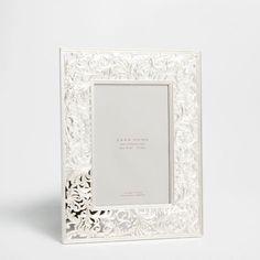 Openwork Leaves Metal Frame - Frames - Decoration   Zara Home Croatia