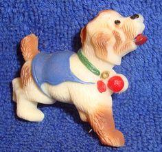 VINTAGE CELLULOID DOG Pin