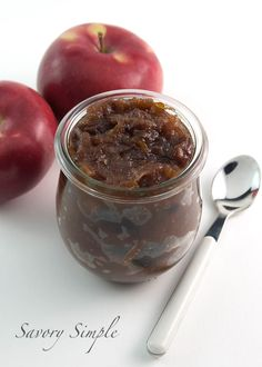 This apple chutney recipe is easy to prepare and a wonderful way to enjoy fall's bounty! Dried cherries are used in place of raisins to enhance the flavor.